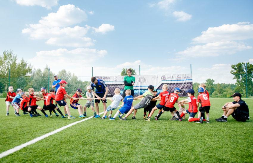 эстафеты футбольных сборов