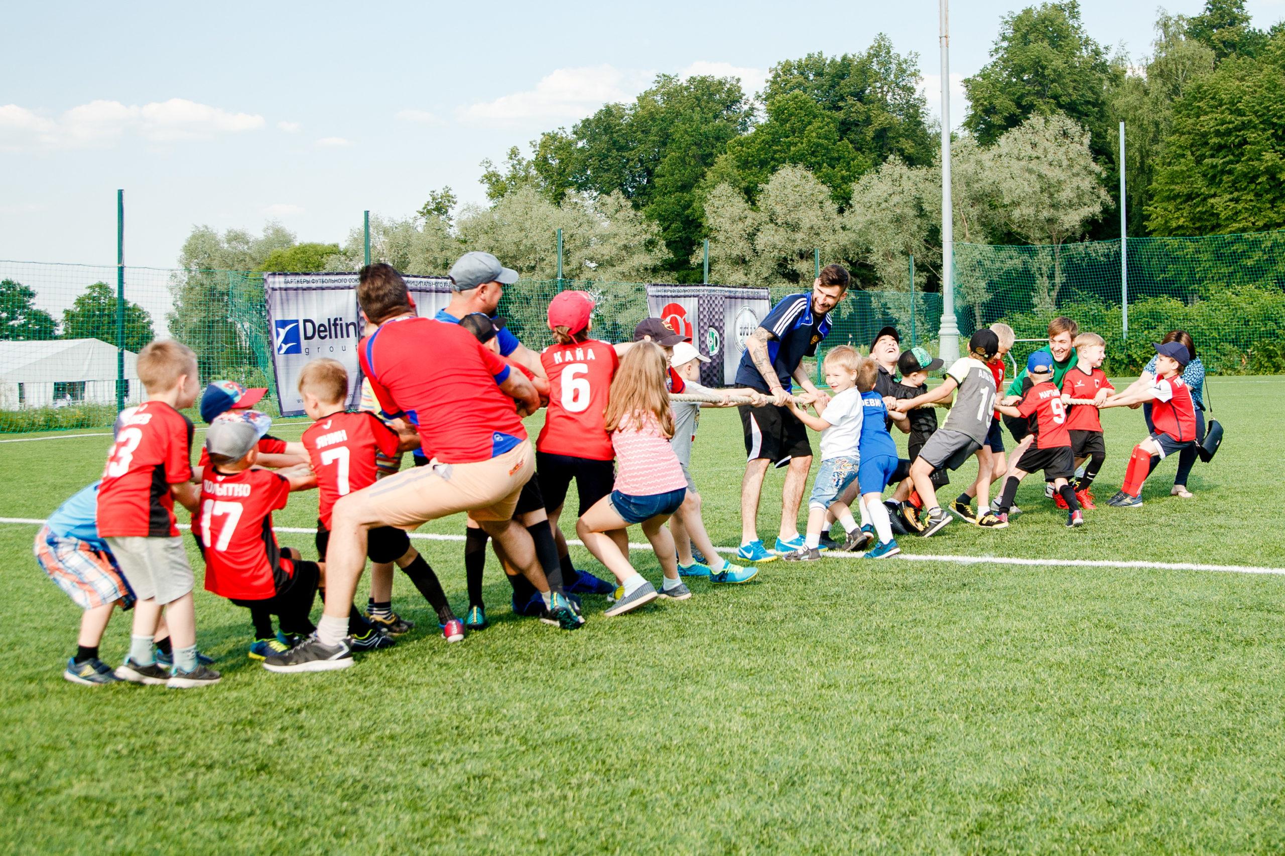 С какого возраста отдавать ребенка на футбол и какая польза